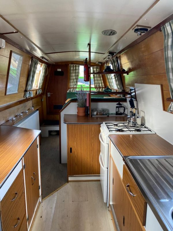 Narrow Boat Wild Lavender Galley